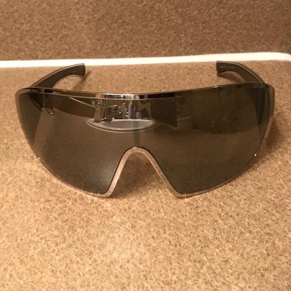 f8afd859b5c2 CHANEL Accessories - Chanel Silver Shield Sunglasses A71234 L4768 Women